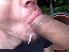 Blowjob outdoor
