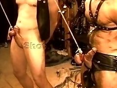 Five man sensual CBT, BDSM sex featuring otters and otters. pt 1