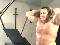 Sexy Daddy Carolina Jim Working Out