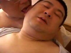 Two Japanese Chubs Having Fun Six