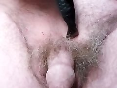 Shaving pubic hair