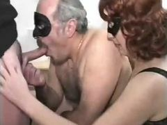 Bisexual Daddy Hairy Man in a trio!