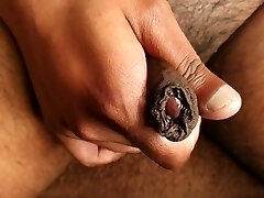 Up Close With My Uncut Cock & Jism