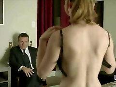 Single Divorcee Mom Ashley Jones gives away Panties to Dom