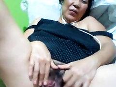 Filipino granny 58 fucking me silly on cam. (Manila)1