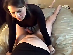Wife talking about other dude while getting fucked by husband