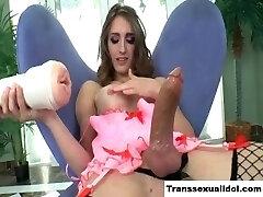 she-male & fleshlight/ travesti & fleshlight (xxx)