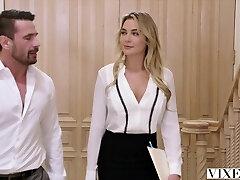 VIXEN Paralegal Has Hot Sex With Client