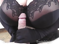Maria Moore - Monster Tits Glove Handjob HD