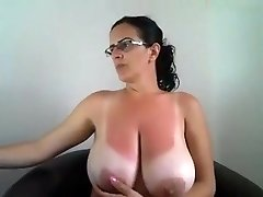 Marvelous Tanlines on this Milf