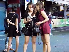Pattaya Walking Street Nightlife and t-girl,Thailand 2020