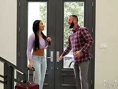 Unforgettable and passionate anal sex fun with curvaceous French goddess Anissa Kate