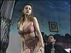 Sexy chick in classic porno movie 1