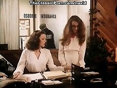 Annette Haven, Lisa De Leeuw, Veronica Hart in old school porn