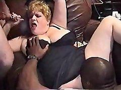 InterracialPlace.org - Vintage VHS Plus-size wife