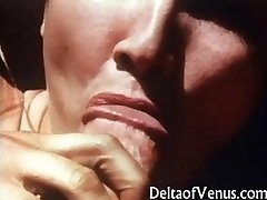 Rare Vintage POV Intercourse - French Lady 1970s
