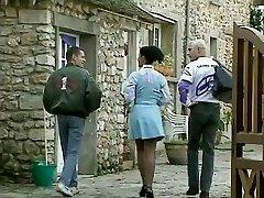Debora Coeur - German Maid plumbed by Stranger