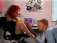 Redhead vintage foot fetish desire