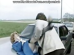 Accident video of hard outdoor lovemaking