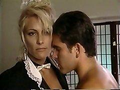 TT Boy unloads his man milk on blonde cougar Debbie Diamond