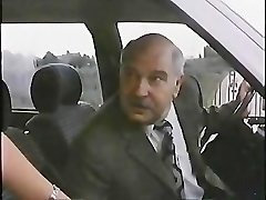 Old Boy With Hooker In Car 1