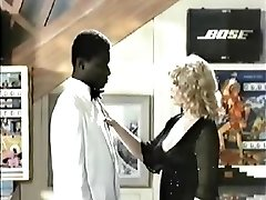 Retro Interracial Blonde Pornography 1