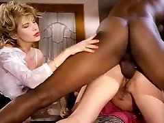 Barbarella, Moana Pozzi, Sean Michaels in well-strung up black retro porn star doing brazilian gals