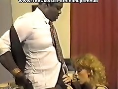 Black boss smashing redhead whore