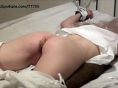 Victorian gal get ginger pain in ass before her spanking