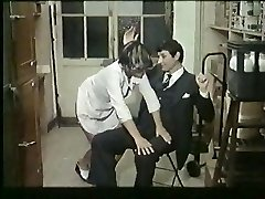 French mature likes spanking and nailing - vintage