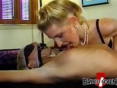 Super-naughty dyke stunners strapon fucking in luscious threesome