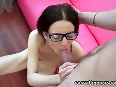 Edward & Lizaveta K in Mixing Up Some History And Orgy - CasualTeenSex