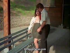 Schoolteacher and Student Girl get Sexual Satisfaction (Vintage)