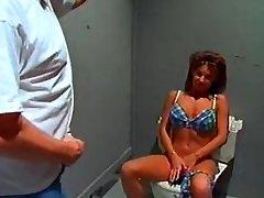 Big tit bikini bimbo sextsar Leanna shower boink