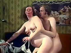 Exotic Amateur pinch with Vintage, Stocking scenes