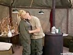 Retro Lovemaking In The Army