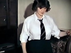 WHOLE LOTTA ROSIE - vintage big tits schoolgirl unclothe dance