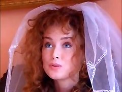 Hot ginger bride tears up an Indian babe with her husband
