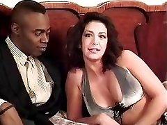 Sophia Ferrari Sean Michaels interracial anal italian brunette old-school vintage retro doggy style