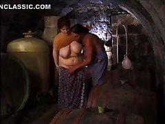 plumbing my bbw in the cellar
