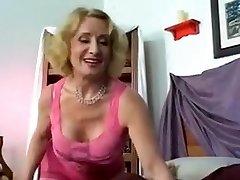 Incredible Ash-blonde, Fetish xxx clip