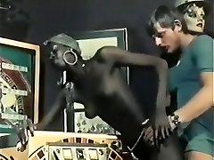 Hottest Black and Ebony, Vintage porno scene