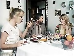 Classic porn from 1981 with these horny stunners getting fucked