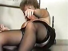 Exotic Retro, Stocking porn video