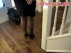 Big Tits Mature Secretary In Pantyhose