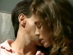 Chasey Lain fucks Peter North old school porn