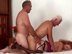 Mature Bi-curious Couple Threesome