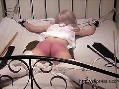 Petite Victorian girl getting a rock-hard punishment