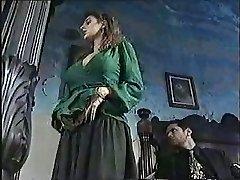 Sexy female in classic porn movie 1