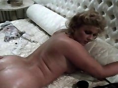 Vintage British Stevie Taylor Gets Her Asshole Reamed